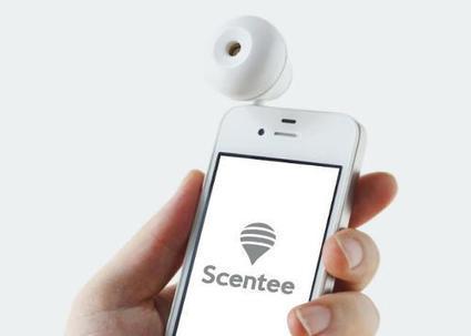 Scentee, un diffuseur d'odeur connecté à votre smartphone | Connected-Objects.fr | Mercadoc | Scoop.it