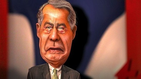 Tea party group lashes out at 'tax and spend liberal' John Boehner | Daily Crew | Scoop.it