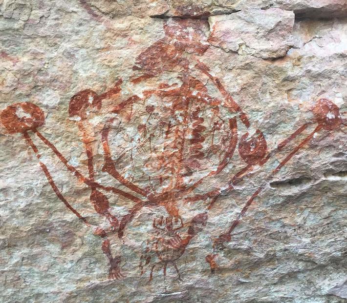 Australie : les secrets des peintures rupestres aborigènes | Géo | Kiosque du monde : Océanie | Scoop.it