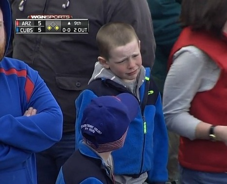Watch: Young Baseball Fan Learns About The Pain Of Defeat | enjoy yourself | Scoop.it