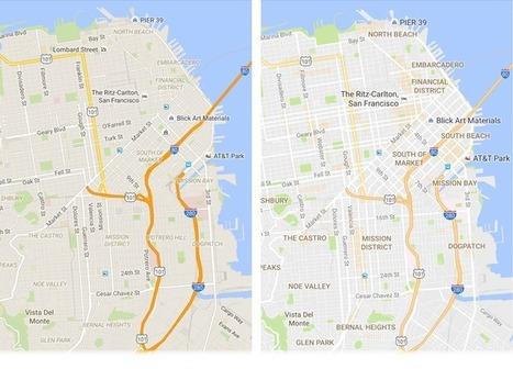 Nueva versión de Google Maps con mejor diseño y más opciones | Aprendiendoaenseñar | Scoop.it