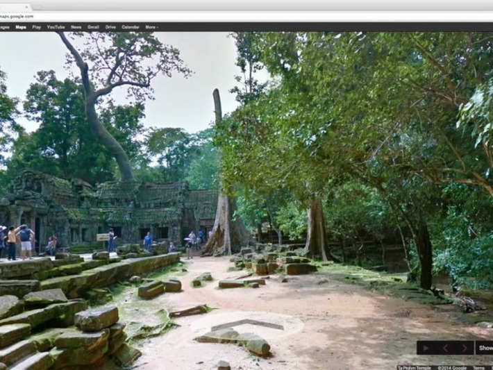 For the First Time Ever, Explore Angkor Wat With Google Street View | Smithsonian | Kiosque du monde : Asie | Scoop.it