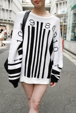 Barcode Sweater | artcode | Scoop.it