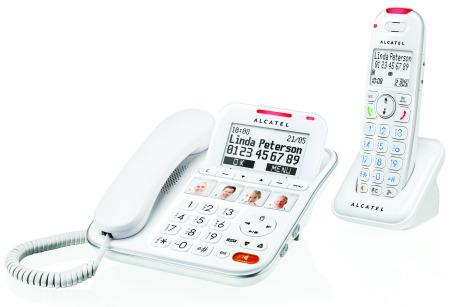 Alcatel XL650 Combo Voice telephone simplifié pour les Seniors et personnes âgées | Gerontechnology | Scoop.it