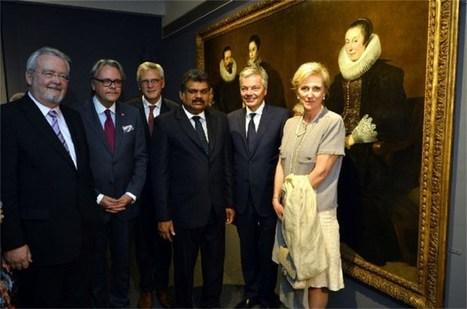 Prinses Astrid opent Antwerpse baroktentoonstelling in India | MaCuSa | Scoop.it