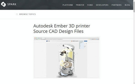 Autodesk ouvre au public les plans de son imprimante 3D Ember | Sciences & Technology | Scoop.it
