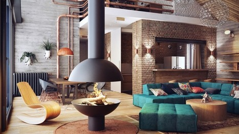 Une maison comme un loft à Minsk | | PLANETE DECO a homes worldPLANETE DECO a homes world | Funny News | Scoop.it