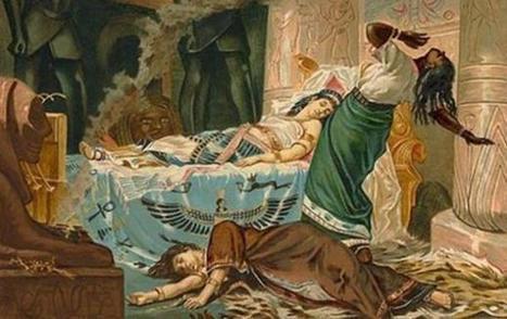 La dramática muerte de Cleopatra: ¿realmente fue un suicidio? | LVDVS CHIRONIS 3.0 | Scoop.it