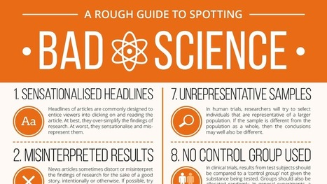 This Graphic Is a Rough Guide to Bad (Or Badly Reported) Science | Digital Imaging - Telling the Story | Scoop.it