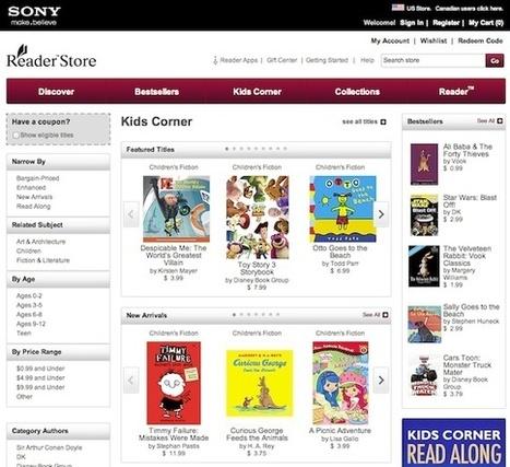 Kids Corner, des livres numériques jeunesse en EPUB3 chez Sony - Actualitté.com | Personalized storytelling | Scoop.it