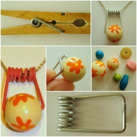 DIY: Necklace from an old clothespin   DIY & Crafts   Scoop.it