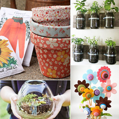 20 Creative Spring Crafts For Sunny Days | Arts & Crafts | Scoop.it