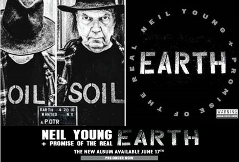 """Neil Young's New Album """"Earth"""" 