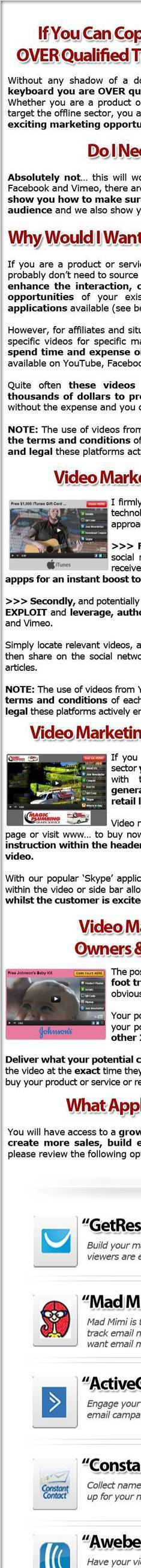 Video Jacker, Best Video Marketing For Affiliate Ever | affiliate marketing | Scoop.it