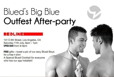 Blued, China's #1 Gay Social Media App Sponsors OUTFEST & Invites You to DTLA's Newest Gay Bar Redline | Gay Relevant | Scoop.it