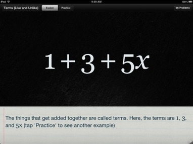 Algebra Touch – K-10 Math iPad iOS App – Fun & Easy Algebra | Tap Into Teen Minds | iPads in Education | Scoop.it