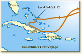 Christopher Columbus Discovers America, 1492 | Geo 152 - Geography | Scoop.it