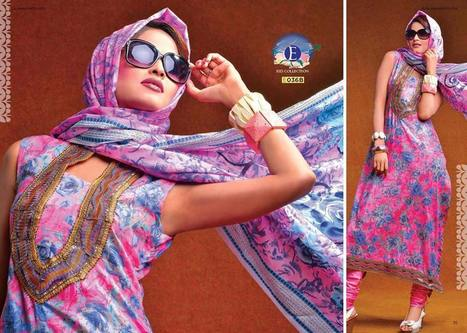 Eiza Lawn Collection 2013 By UA Textile For Ladies | stylostyle | Scoop.it