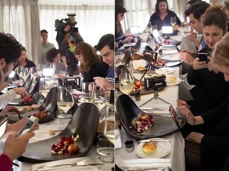 Des assiettes spécialement conçues pour prendre le plat en photo avec son smartphone | Toulouse networks | Scoop.it