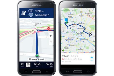 Nokian HERE-kartat julkaistiin Samsungin Galaxy-laitteille – lataa täältä | Android tools and news | Scoop.it