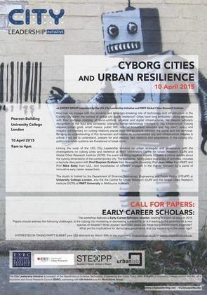 Call for Papers: Cyborg Cities and Urban Resilience