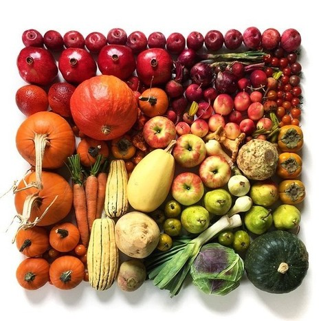 Fruits and Veggies Meticulously Arranged to Form Colorful Gradients | Le It e Amo ✪ | Scoop.it