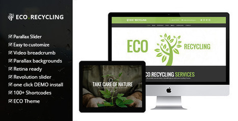 Eco recycling v1.3 - a Multipurpose Woocommerce Theme - Daily Nulled | Daily Nulled WordPress Themes & Plugins | Scoop.it