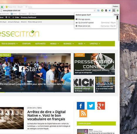 Trop d'onglets ouverts dans Chrome ? Regroupez-les avec Spaces ! - Presse-citron (Blog) | netnavig | Scoop.it