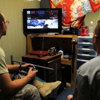 Simulation Complex: Into the Military's Love of Video Games - Defense One   Transformational Teaching and Technology   Scoop.it