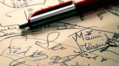 Ugly Handwriting and what it Says about You | grafología y biorresonancia cuántica | Scoop.it