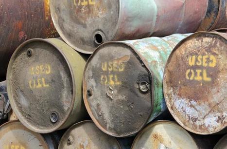 Le pétrole bon marché menace le recyclage des huiles usagées | économie circulaire, économie de la fonctionnalité | Scoop.it
