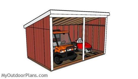 Free Run In Shed Plans | MyOutdoorPlans | Free Woodworking Plans and Projects, DIY Shed, Wooden Playhouse, Pergola, Bbq | Garden Plans | Scoop.it