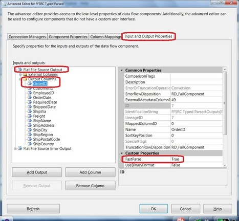 SSIS Optimization techniques part 5: SSIS Flat File - Daniel Bowlin's SQL Server BI Blog   Microsoft Business Intelligence (MSBI)   Scoop.it