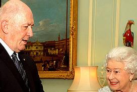 Peter Cosgrove meets Queen, lets slip Prince George to visit Australia   Staff Meeting   Scoop.it