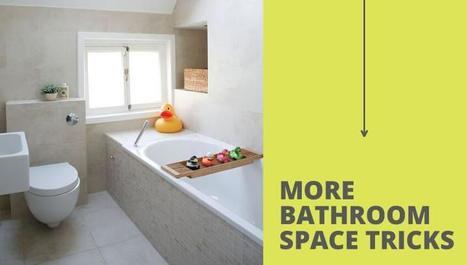 Κάντε το Μικρό Μπάνιο Σπιτιού να Φαίνεται Μεγαλύτερο | Customer Works | Scoop.it