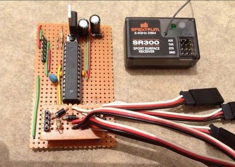 RC Car Meets Arduino: Multiplexing RC Channels with Arduino | Arduino Geeks | Scoop.it