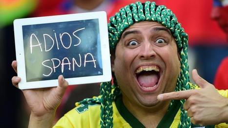 Lo más curioso del partido entre España y Chile por Brasil 2014 - Mundial Brasil 2014 | RPP NOTICIAS | MUNDIAL 2014 | Scoop.it