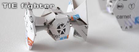 Hubert de Lartigue - Vaisseaux origami | Du côté décalé de la Force | Scoop.it