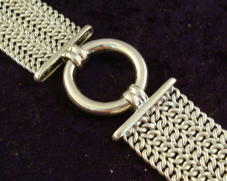 Bold Mexican Silver Chain Link Bracelet - Mexican Silver Store | Taxco.925 Mexican Silver Store | Scoop.it