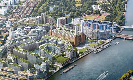 Apple moves British HQ into London's Battersea Power Station boiler room - The Guardian | UK Real Estate News | Scoop.it