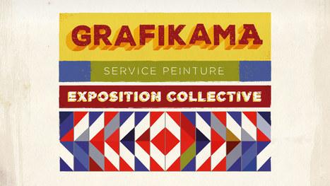 Grafikama (Service Peinture) | Exposition collective, Nantes | Arts et FLE | Scoop.it