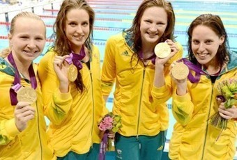 Swimming News: Order of Australia For London 4x100m Olympic Champs | Swim News Round Up | Scoop.it