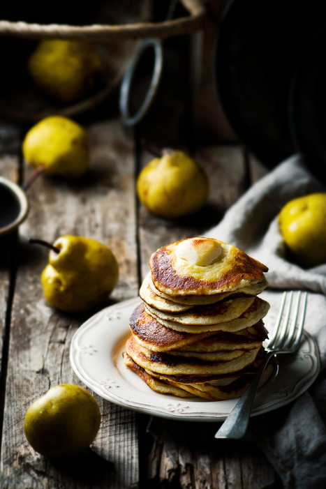 pancakes with pears | Passion for Cooking | Scoop.it