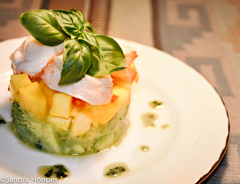 Lobster Avocado and Mango Salad Recipe | RECETAS DE COCINA | Scoop.it