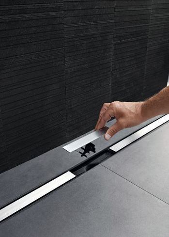 Sleek, streamlined drainage design for wetrooms is seamless with Geberit CleanLine | Architecture, Design & Innovation | Scoop.it