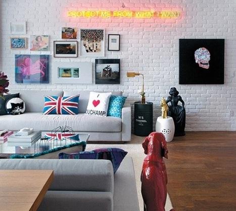Decor Trend:  Neon Typography | Best of Interior Design | Scoop.it