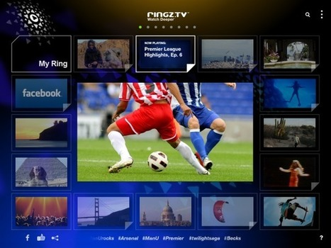 Ringz.TV Brings A Whole New Look To Social Video Discovery On The iPad | screen seriality | Scoop.it