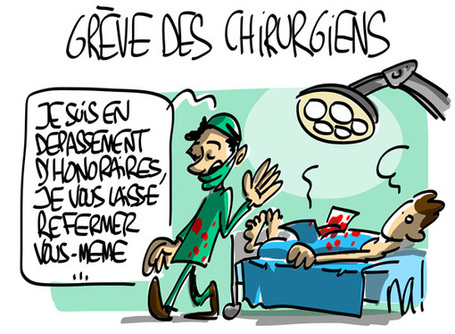 Grève des chirurgiens | Baie d'humour | Scoop.it