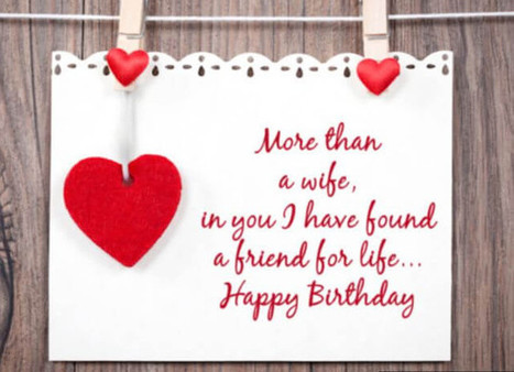 Sweet romantic Birthday wishes for your wife - wishes and quotes | World Important days and Events | Scoop.it