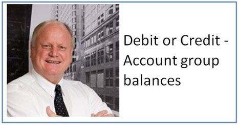 Debit or Credit? Account Group Balances   Basic Accounting Concepts   Scoop.it